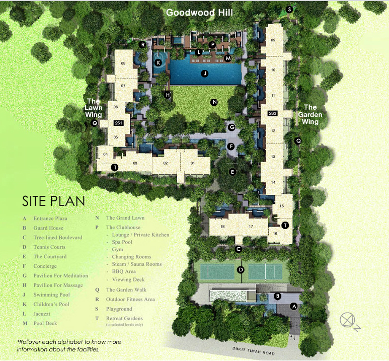 Goodwood Residence Site Plan